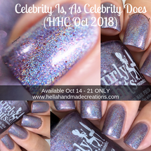 Celebrity Is, As Celebrity Does (HHC Oct 2018 - Harry Potter Theme) inspired by Gilderoy Lockhart AVAILABLE AT HELLA HANDMADE CREATIONS www.hellahandmadecreations.com