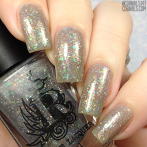Never Trust the Living from the It's Showtime Collection by Rogue Lacquer AVAILABLE AT GIRLY BITS COSMETICS www.girlybitscosmetics.com | Photo credit: CDB Nails