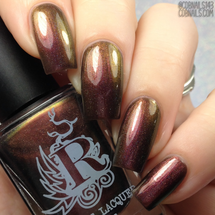 My Life is a Darkroom from the It's Showtime Collection by Rogue Lacquer AVAILABLE AT GIRLY BITS COSMETICS www.girlybitscosmetics.com | Photo credit: CDB Nails