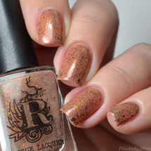 Red Rock from the Wilds of Arizona Collection by Rogue Lacquer AVAILABLE AT GIRLY BITS COSMETICS www.girlybitscosmetics.com | Photo credit: Polished Lifting