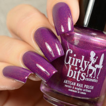 Original Gangsta from the Unicorn Pee Collection by Girly Bits Cosmetics AVAILABLE AT GIRLY BITS COSMETICS www.girlybitscosmetics.com | Photo credit: Delishious Nails