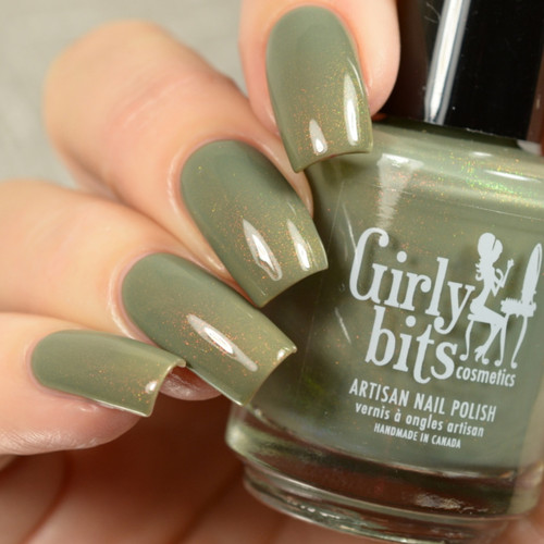 We Olive Pee from the Unicorn Pee Collection by Girly Bits Cosmetics AVAILABLE AT GIRLY BITS COSMETICS www.girlybitscosmetics.com | Photo credit: Delishious Nails