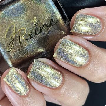 Goldschlager from the Holographic Collection by JReine AVAILABLE AT GIRLY BITS COSMETICS www.girlybitscosmetics.com