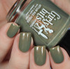 We Olive Pee from the Unicorn Pee Collection by Girly Bits Cosmetics AVAILABLE AT GIRLY BITS COSMETICS www.girlybitscosmetics.com | Photo credit: Cosmetic Sanctuary