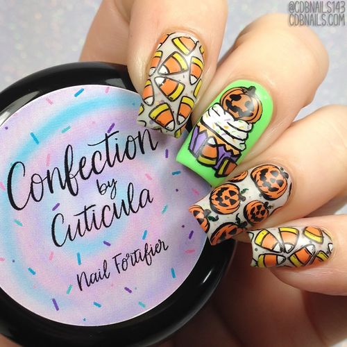 Confection Nail Fortifier by Cuticula AVAILABLE AT GIRLY BITS COSMETICS www.girlybitscosmetics.com | Photo credit: @CDBNails143