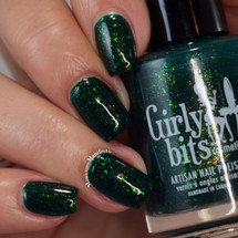 All I Want Fir Christmas is You (Dec 2018 CoTM) by Girly Bits Cosmetics AVAILABLE AT GIRLY BITS COSMETICS www.girlybitscosmetics.com  | Photo credit: Manicure Mainfesto