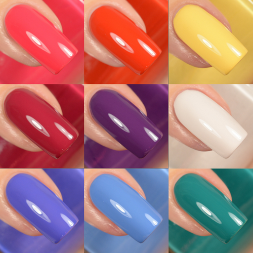 Fall 2018 Collection by Girly Bits Cosmetics AVAILABLE AT GIRLY BITS COSMETICS www.girlybitscosmetics.com | Photo credit: Delishious Nails