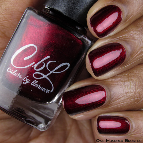 CbL PoTM - Dec 2018 - By Fire's Light by Colors by Llarowe AVAILABLE AT GIRLY BITS COSMETICS www.girlybitscosmetics.com | Photo credit: One Hundred Brushes