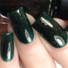 Evergreen Dreams from the Holiday 2018 Collection by Colors by Llarowe AVAILABLE AT GIRLY BITS COSMETICS www.girlybitscosmetics.com | Photo credit: CDB Nails