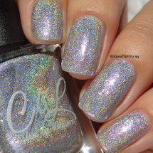 Eddie Is With The Angels from the CbL Cares Collection by Colors by Llarowe AVAILABLE AT GIRLY BITS COSMETICS www.girlybitscosmetics.com | Photo credit: Intense Polish Therapy