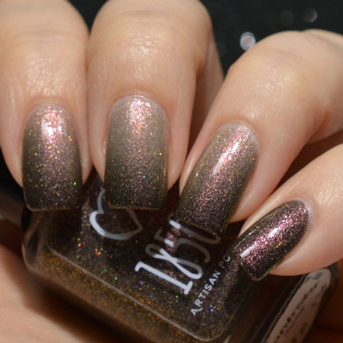 Groundbreaker from the Women's History Month Collection by 1850 Artisan Polish AVAILABLE AT GIRLY BITS COSMETICS www.girlybitscosmetics.com | Photo credit: Polished to the Nines