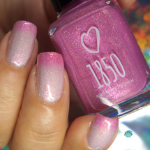 Once Upon a Dream from the Dreams Really Do Come True Collection by 1850 Artisan Polish AVAILABLE AT GIRLY BITS COSMETICS www.girlybitscosmetics.com | Photo credit: YvyVernis