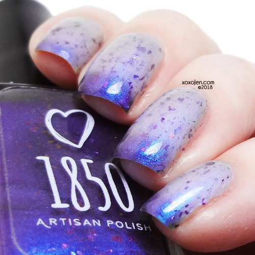 Regenerate from The 13th Doctor Collection by 1850 Artisan Polish AVAILABLE AT GIRLY BITS COSMETICS www.girlybitscosmetics.com | Photo credit: xoxo Jen