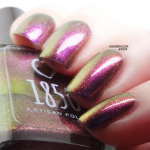 Oh, Brilliant! from The 13th Doctor Collection by 1850 Artisan Polish AVAILABLE AT GIRLY BITS COSMETICS www.girlybitscosmetics.com | Photo credit: xoxo Jen