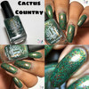 Cactus Country from the Wilds of Arizona Collection (Part 2) by Rogue Lacquer AVAILABLE AT GIRLY BITS COSMETICS www.girlybitscosmetics.com | Photo credit: Queen of Nails 83