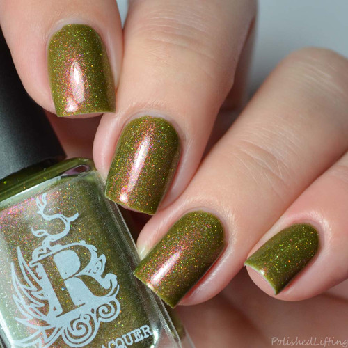 Ugly But Interesting from the Not Your Average Holiday Duo by Rogue Lacquer AVAILABLE AT GIRLY BITS COSMETICS www.girlybitscosmetics.com | Photo credit: Polished Lifting