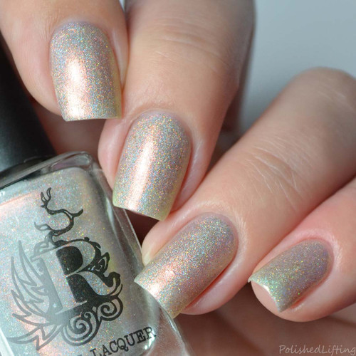 Unicorn Blood from the Not Your Average Holiday Duo by Rogue Lacquer AVAILABLE AT GIRLY BITS COSMETICS www.girlybitscosmetics.com   Photo credit: Polished Lifting