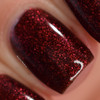 Red Velvet (January 2019 CoTM) by Girly Bits Cosmetics AVAILABLE AT GIRLY BITS COSMETICS www.girlybitscosmetics.com  | Photo credit: Manicure Manifesto