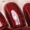 Red Velvet (January 2019 CoTM) by Girly Bits Cosmetics AVAILABLE AT GIRLY BITS COSMETICS www.girlybitscosmetics.com  | Photo credit: XOXO Jen