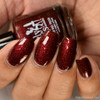Red Velvet (January 2019 CoTM) by Girly Bits Cosmetics AVAILABLE AT GIRLY BITS COSMETICS www.girlybitscosmetics.com  | Photo credit: The Polished Mage