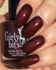 Red Velvet (January 2019 CoTM) by Girly Bits Cosmetics AVAILABLE AT GIRLY BITS COSMETICS www.girlybitscosmetics.com  | Photo credit: Ehmkay Nails