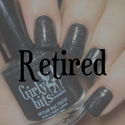 After Midnight (January 2019 CoTM) by Girly Bits Cosmetics AVAILABLE AT GIRLY BITS COSMETICS www.girlybitscosmetics.com    Photo credit: IG@PolishHisNails