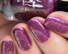 I Must Not Tell Lies (HHC Jan 2019 - Harry Potter Series) inspired by Dolores Umbridge AVAILABLE AT HELLA HANDMADE CREATIONS www.hellahandmadecreations.com   Photo credit: Nail Polish Society