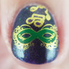 Bourbon Street Stroll (Road to PC New Orleans 2019 Series) by Girly Bits Cosmetics AVAILABLE ONLY AT WWW.THEPOLISHCONVENTION.COM | Photo credit: Indie Polish Therapy