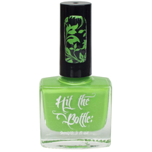 Slime after Slime {Stamping Polish} by Hit the Bottle AVAILABLE AT GIRLY BITS COSMETICS www.girlybitscosmetics.com | Photo credit: Hit the Bottle