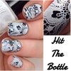 Snowed In {Stamping Polish} by Hit the Bottle AVAILABLE AT GIRLY BITS COSMETICS www.girlybitscosmetics.com | Photo credit: Lady and the Stamp
