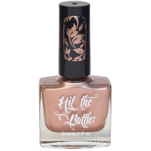 Roseglow Gold {Stamping Polish} by Hit the Bottle AVAILABLE AT GIRLY BITS COSMETICS www.girlybitscosmetics.com | Photo credit: Hit the Bottle