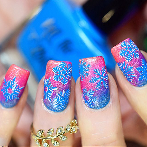 Blutonium {Stamping Polish} by Hit the Bottle AVAILABLE AT GIRLY BITS COSMETICS www.girlybitscosmetics.com | Photo credit: @clairestelle8