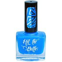 Blutonium {Stamping Polish} by Hit the Bottle AVAILABLE AT GIRLY BITS COSMETICS www.girlybitscosmetics.com | Photo credit: Hit the Bottle