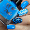 Blutonium {Stamping Polish} by Hit the Bottle AVAILABLE AT GIRLY BITS COSMETICS www.girlybitscosmetics.com | Photo credit: Copycat Claws