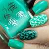 Seas the Day {Stamping Polish} by Hit the Bottle AVAILABLE AT GIRLY BITS COSMETICS www.girlybitscosmetics.com | Photo credit: Copycat Claws
