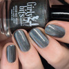 Steel My Heart (February 2019 CoTM) by Girly Bits Cosmetics AVAILABLE AT GIRLY BITS COSMETICS www.girlybitscosmetics.com  | Photo credit: Nail Polish Society
