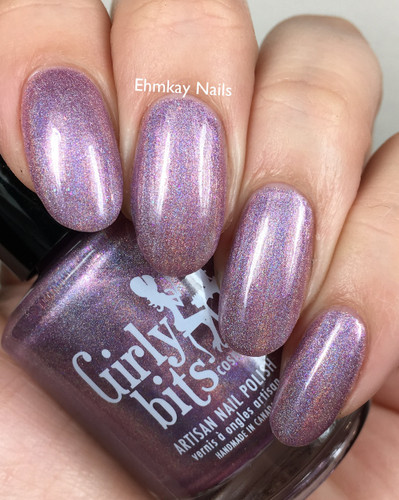 Budding Romance (February 2019 CoTM) by Girly Bits Cosmetics AVAILABLE AT GIRLY BITS COSMETICS www.girlybitscosmetics.com  | Photo credit: EhmKay Nails