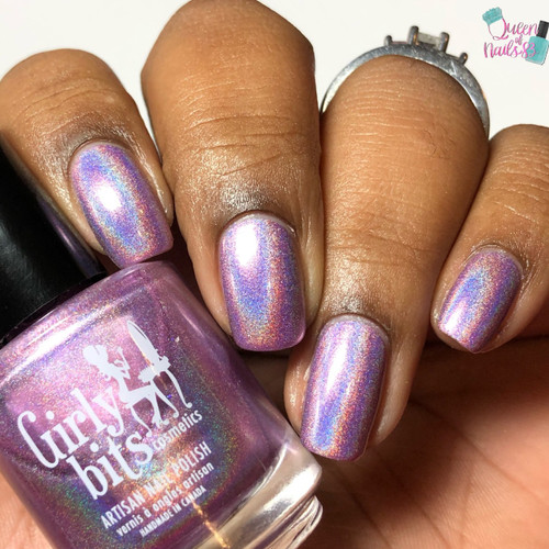 Budding Romance (February 2019 CoTM) by Girly Bits Cosmetics AVAILABLE AT GIRLY BITS COSMETICS www.girlybitscosmetics.com    Photo credit: Queen of Nails 83