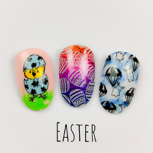 Easter 2019 by Dixie Plates AVAILABLE AT GIRLY BITS COSMETICS www.girlybitscosmetics.com | Photo credit: Dixie Plates