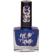 Navy Jones' Locker {Stamping Polish} by Hit the Bottle AVAILABLE AT GIRLY BITS COSMETICS www.girlybitscosmetics.com | Photo credit: Hit the Bottle