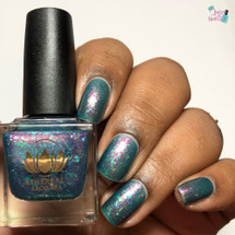 Mind's Eye from the Mysticism Collection by Ethereal Lacquer AVAILABLE AT GIRLY BITS COSMETICS www.girlybitscosmetics.com | Photo credit: Queen of Nails 83