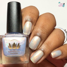 Pendulum of Light from the Mysticism Collection by Ethereal Lacquer AVAILABLE AT GIRLY BITS COSMETICS www.girlybitscosmetics.com | Photo credit: Queen of Nails 83