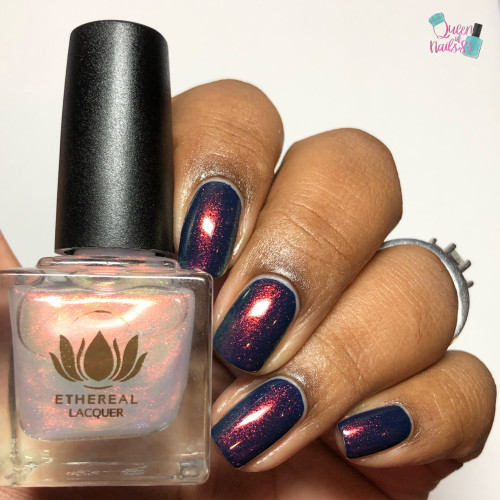 Bauble from the Mysticism Collection by Ethereal Lacquer AVAILABLE AT GIRLY BITS COSMETICS www.girlybitscosmetics.com | Photo credit: Queen of Nails 83