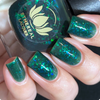 Slytherin from the Harry Potter Collection by Ethereal Lacquer AVAILABLE AT GIRLY BITS COSMETICS www.girlybitscosmetics.com | Photo credit: IG@nailmedaily