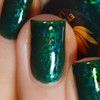 Slytherin from the Harry Potter Collection by Ethereal Lacquer AVAILABLE AT GIRLY BITS COSMETICS www.girlybitscosmetics.com | Photo credit: Queen of Nails 83