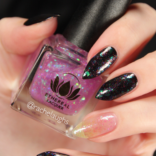 Unicorn from the Harry Potter Collection by Ethereal Lacquer AVAILABLE AT GIRLY BITS COSMETICS www.girlybitscosmetics.com | Photo credit: Rachelaughs