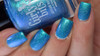Cyantifically Proven (March 2019 CoTM) by Girly Bits Cosmetics AVAILABLE AT GIRLY BITS COSMETICS www.girlybitscosmetics.com    Photo credit: Manicure Manifesto