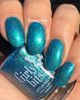 Cyantifically Proven (March 2019 CoTM) by Girly Bits Cosmetics AVAILABLE AT GIRLY BITS COSMETICS www.girlybitscosmetics.com    Photo credit: EhmKay Nails