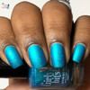 Cyantifically Proven (March 2019 CoTM) by Girly Bits Cosmetics AVAILABLE AT GIRLY BITS COSMETICS www.girlybitscosmetics.com    Photo credit: Queen of Nails 83