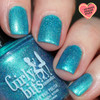 Cyantifically Proven (March 2019 CoTM) by Girly Bits Cosmetics AVAILABLE AT GIRLY BITS COSMETICS www.girlybitscosmetics.com    Photo credit: Streets Ahead Style